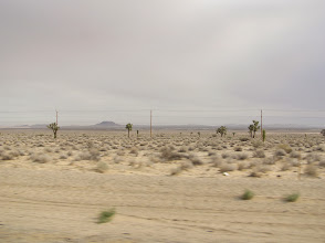 Photo: The road to FAR, looks cloudy but it was not stormy.