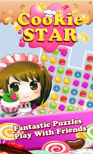Candy Cookie Star