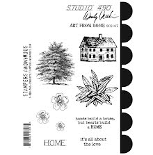 Wendy Vecchi Cling Stamps - Art From Home