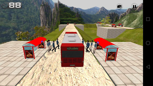 Off Road Tourist Bus Driver
