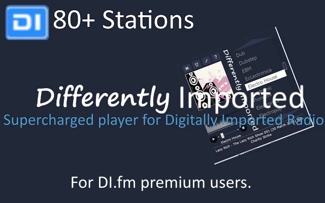 Differently Imported for di.fm