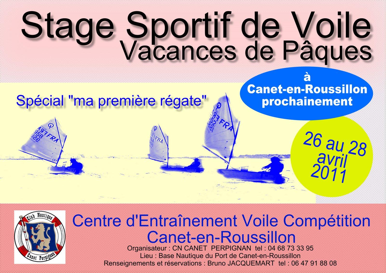 stage voile Canet-en-Roussillon