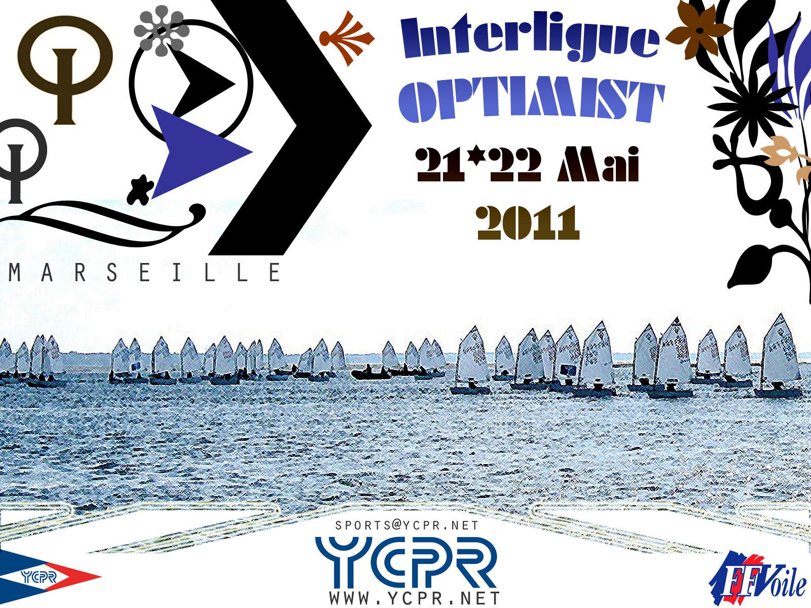 Optist Voile Régate Marseille Génératio-Opti