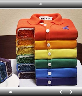 Unique Birthday Cake Design - náhled