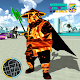 Flame Panda Rope Hero - Super Gangster Panda