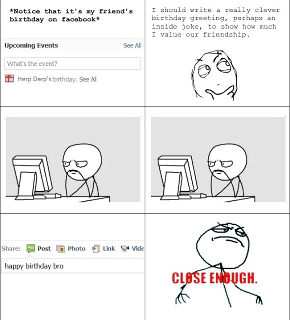 facebook birthdays funny meme