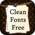 Clean Fonts Free icon