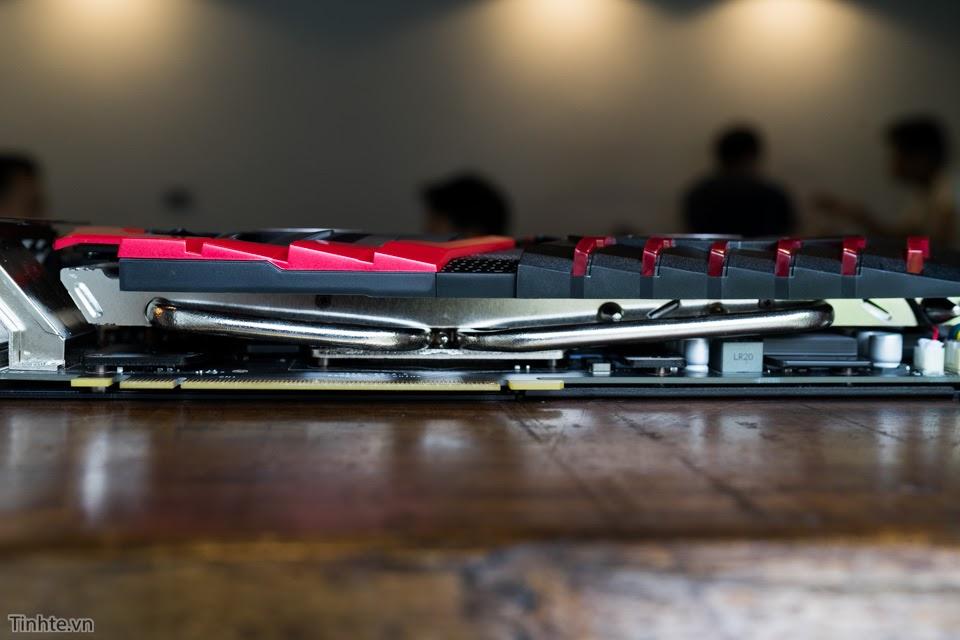 Đánh giá card màn hình MSI GTX 1070 GAMING X: Thiết kế ngầu, hiệu năng ấn tượng, giá 12 triệu đồng