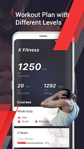 Home Workout - 6 Pack Abs Fitness, Exercise Fitness app screenshot for Android