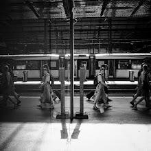 Photo: <--   -->  #gplusanniversary  #GPlusAnniversaryLuzern  #luzern06302012  #street #streettogs #streetphotography #shootthestreet #blackandwhite #bw #monochrome