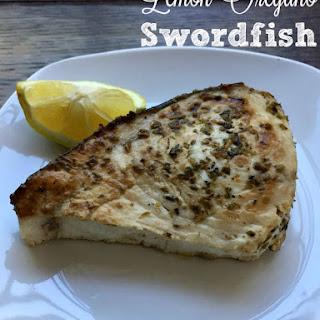 Lemon Oregano Swordfish