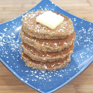 Creamy Oat Pancakes.