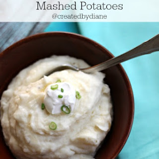 Sour Cream and Onion Mashed Potatoes & KitchenAid Mixer Giveaway