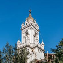 Photo: Turm der bulgarisch-orthodoxen Kirche St. Stefan (Aya Stefan). Diese Kirche wurde aus Gußeisen in Wien gefertigt und über die Donau, dem Schwarzen Meer und durch den Bosporus und das Goldene Horn zu ihrem Standort transportiert.