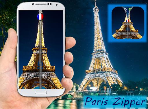 Paris Zipper Screen Lock