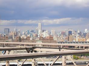 Photo: Midtown Manhattan seen from the Brooklyn Bridge