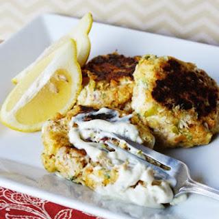 Skillet Tuna Cakes & Homemade Tartar Sauce