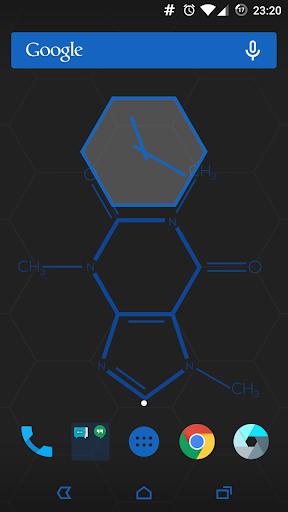 CM12 12.1 Theme - HexagonBlue