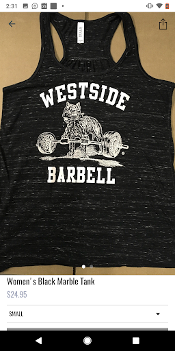 Westside Barbell App Report on Mobile Action - App Store