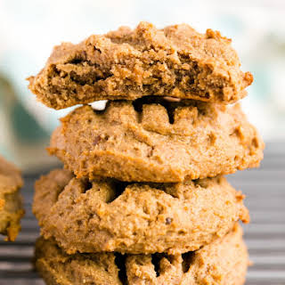 Vegan Peanut Butter Cookies.