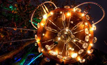 Photo: Underneath a chandelier- Austin, Tx