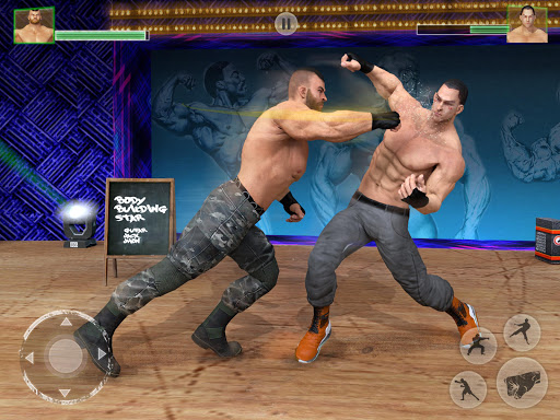 Bodybuilder Fighting Club 2019: Wrestling Games screenshots 10