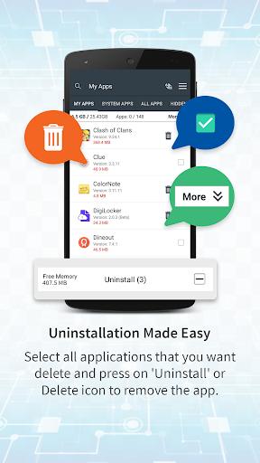 App Cleaner & Uninstaller 1.4 screenshots 1