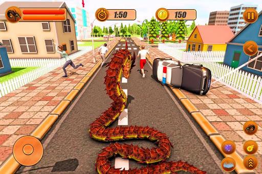 Furious Anaconda Dragon Snake City Rampage screenshot 2