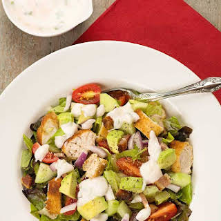 Chicken and Avocado Chopped Salad.