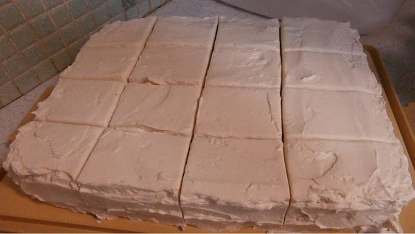 BAKERY FROSTING  Blend 5 tbs flour and 1 cup milk cook to a very thick...
