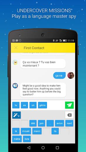 Screenshot 0 for Memrise's Android app'