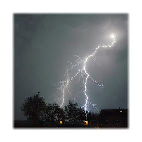 Lightning I by Lorenzo Prodon - Landscapes Weather ( lightning thunderstorm storm rain light flash,  )