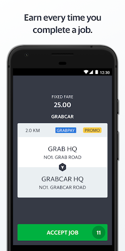 Grab Driver  screenshots 2