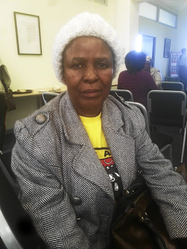 Salome Molefe, who has been a domestic worker for over 20 years, is also an organiser of union Sadsawu.