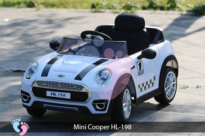 Xe oto điện trẻ em Mini Cooper HL-198 6