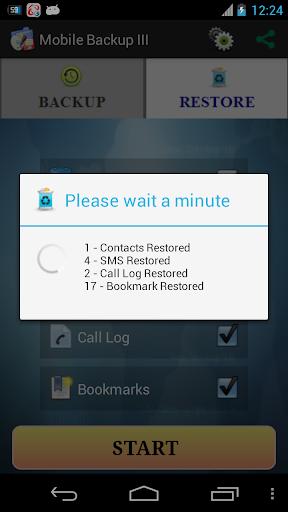 Mobile Backup II  screenshot 4