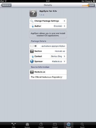เทคนิคการ Jailbreak iPad iOS version 4.2.1 ด้วย greenpois0n Ipad042