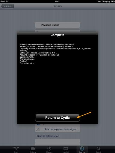 เทคนิคการ Jailbreak iPad iOS version 4.2.1 ด้วย greenpois0n Ipad044