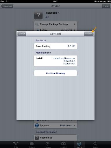เทคนิคการ Jailbreak iPad iOS version 4.2.1 ด้วย greenpois0n Ipad046