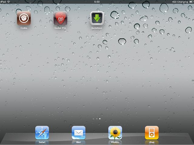 เทคนิคการ Jailbreak iPad iOS version 4.2.1 ด้วย greenpois0n Ipad058