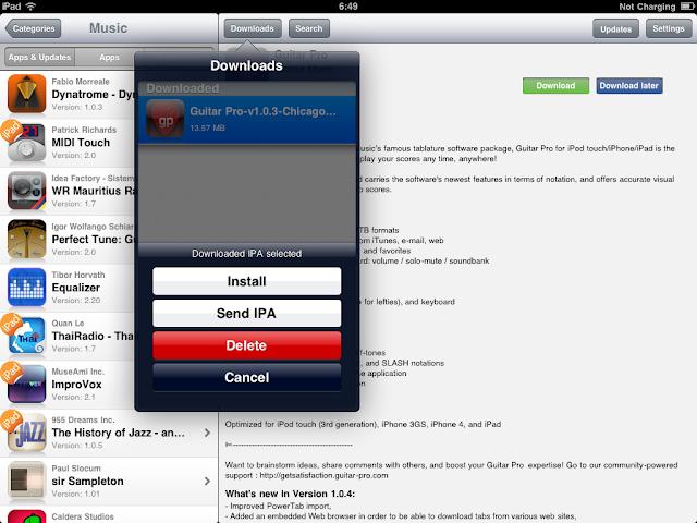 เทคนิคการ Jailbreak iPad iOS version 4.2.1 ด้วย greenpois0n Ipad056