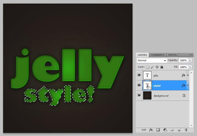 เทคนิคการสร้างตัวอักษรแบบ Plastic Jelly Pj12