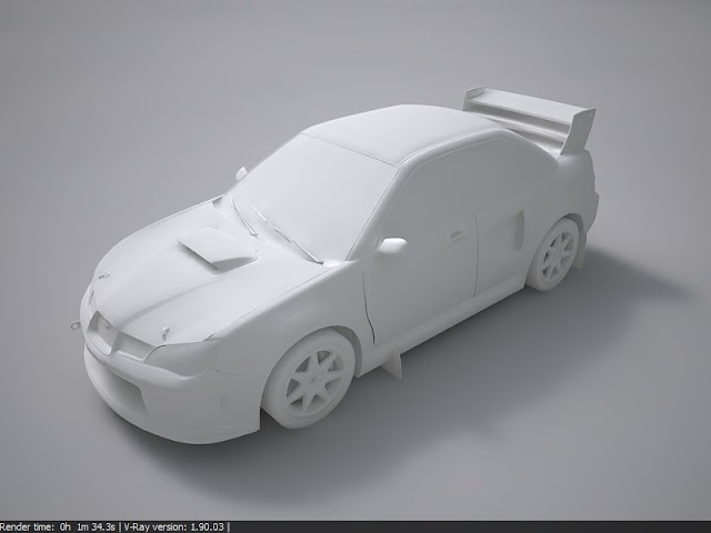 Subaru Impreza STI Group N (Rally Cross Version) from DiRT 2 Game - No Color Stignrc03