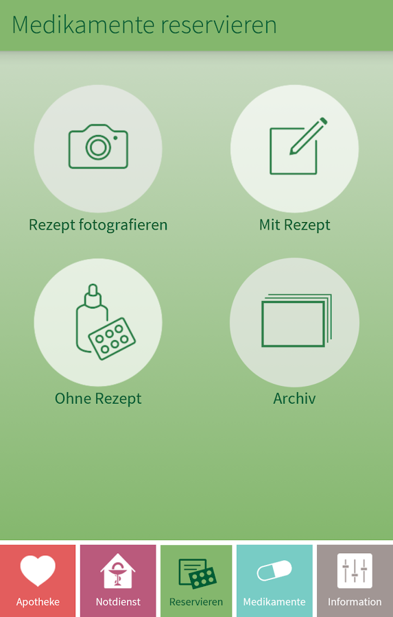 ApothekenApp – Screenshot