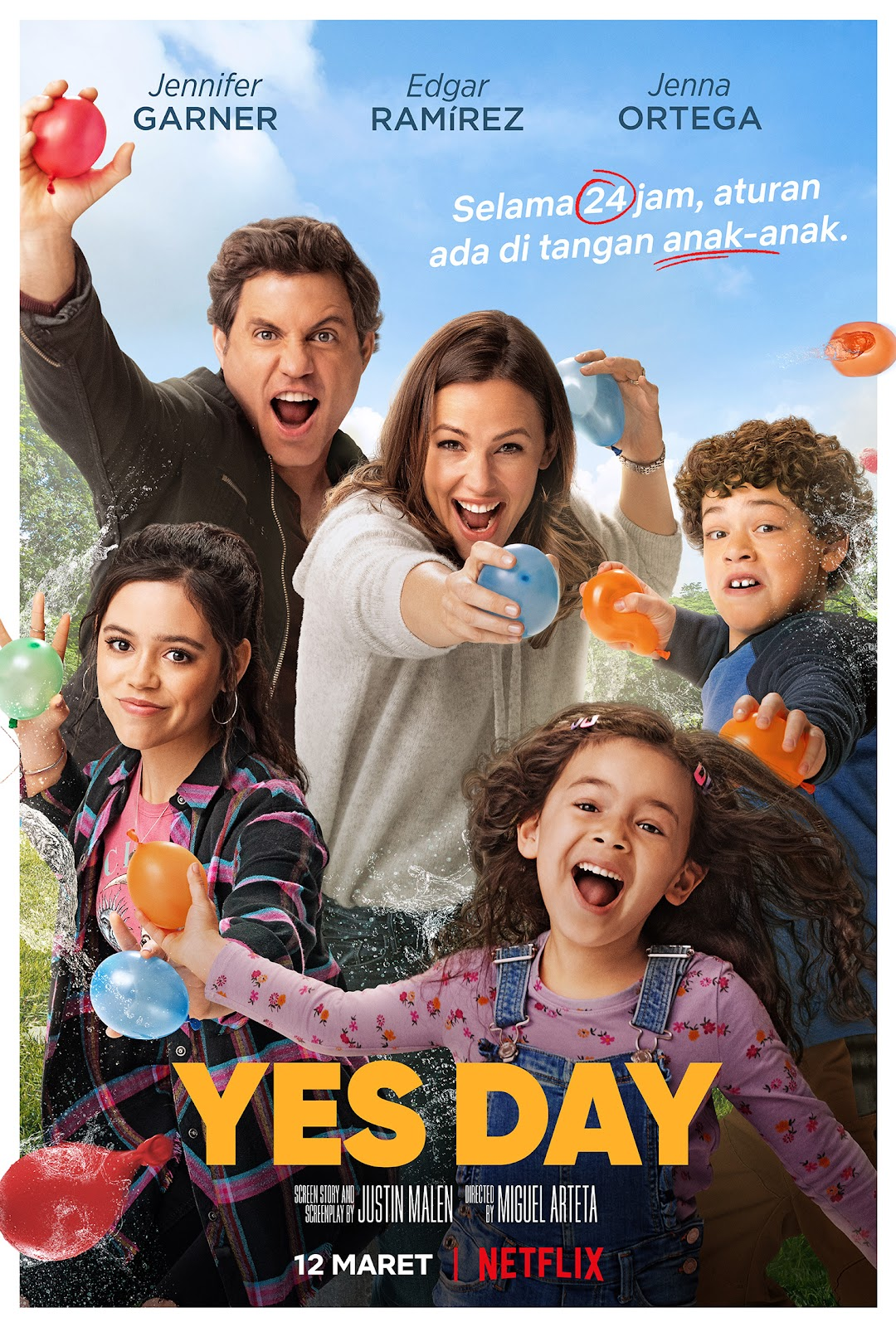 Poster film YES DAY