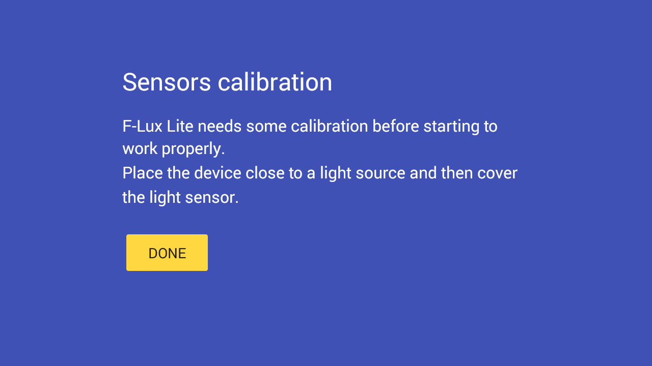 Screen Brightness Control Lite- screenshot
