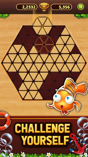 Trigon Wood: Triangle Block Puzzle screenshot 4