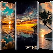 4D Sunset Wallpaper - HD Wallpaper & Backgrounds