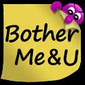 BotherMe&U Secure Reminder Messenger icon