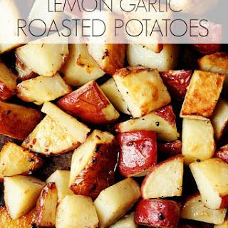 Lemon Garlic Roasted Potatoes
